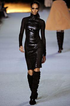 Joan Smalls  Fall 2012 Ready-to-Wear  Kanye West - Runway