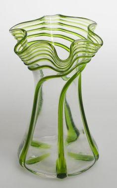 Art Nouveau Vase by Divonsir Borges