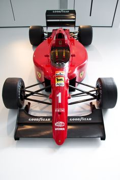 Alain Prost moved to Ferrari in 1990 after the winning the world championship with McLaren in This was the car that Ferrari literally designed around the Frenchman, hoping he could turn things around for the (then) ailing Italian team. Alain Prost, F1 Racing, Drag Racing, Grand Prix, Ferrari F12berlinetta, Concept Motorcycles, Formula 1 Car, Automotive Art, Indy Cars