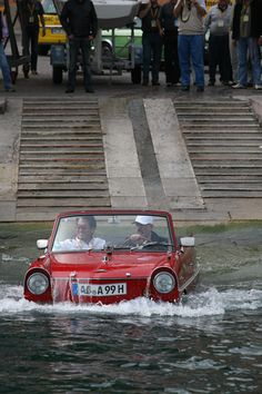 Amphicar & Toyota's CEO Akio Toyoda #Car