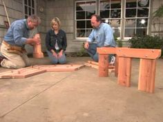 How to Build a Bench Around a Tree - http://news.gardencentreshopping.co.uk/garden-furniture/how-to-build-a-bench-around-a-tree/