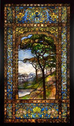 theplumgarden:Landscape, 1893-1920, Louis Comfort Tiffany