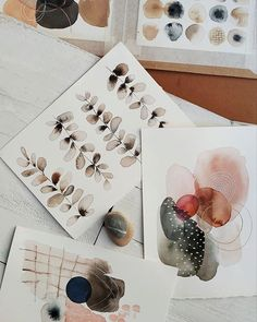 watercolor art abstract & watercolor art for beginners ; watercolor art for beginners simple ; watercolor art for beginners tutorials ; Abstract Watercolor Art, Watercolor And Ink, Watercolor Paintings, Simple Watercolor, Watercolours, Oil Paintings, Watercolour Tutorials, Mark Making, Simple Art