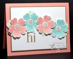 F4A172 Flower Shop by stampercamper - Cards and Paper Crafts at Splitcoaststampers