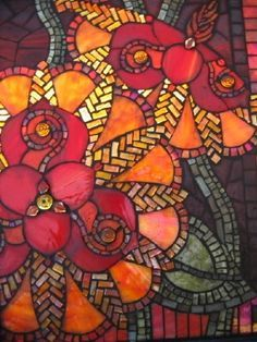 stained glass mosaic door - Google Search