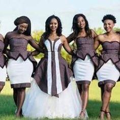 Tswana Traditional Wedding / Dresses And Wear ⋆ African Fashion Designers, African Men Fashion, African Wear, African Fashion Dresses, African Women, African Dress, Elegant Ball Gowns, Next Fashion, Women's Fashion