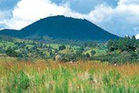 Cerro El Campanero, en las cercanías de la laguna de La Cocha.