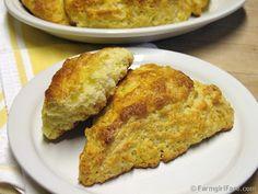 Lemon Scones (Recipe)