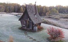 Cet artiste-menuisier construit des petites maisons 100 % écologiques   Actualités Seloger