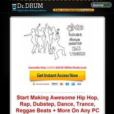 Earn Over $108 Per Sale Plus Monthly Rebills With This Awesome Beat Maker... Converts Like Crazy Complete With 1 Click Upsells, Rebills & Affiliate Competitions (just Gave Away $13k To Affiliates In Prizes Alone) Http://www.drdrum.com/affiliates.html See more! : http://get-now.natantoday.com/lp.php?target=docdrum