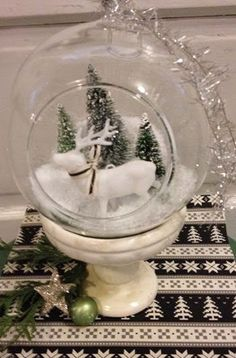 Create your own snow globe scene. We have everything you need at Joyworks!