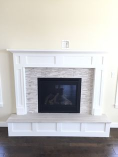 fireplace surrounds with a raised hearth - Google Search