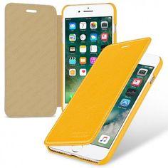 TETDED Premium Leather Case for Apple iPhone 7 Plus -- Gerzat II (LC: Yellow)