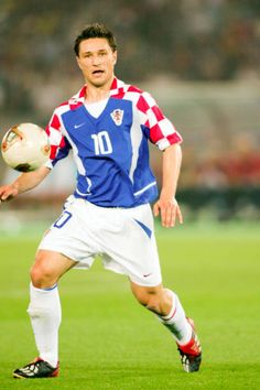 Niko Kovac of Croatia in action at the 2002 World Cup Finals.