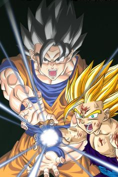 Gohan and Goku Absolute Best Here