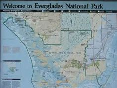 Everglades National Park Map Bing Images