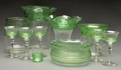 Explore a Variety of Glass Made by Steuben: Threading and Reeding