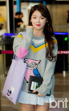 Oh My Girl Seunghee's Airport Fashion