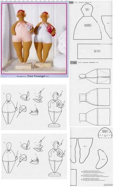"Best 12 Oh finally. A fat lady ""Me"" doll – SkillOfKing.Com Best 12 Oh finally. A fat lady ""Me"" doll – SkillOfKing. Doll Crafts, Diy Doll, Doll Clothes Patterns, Doll Patterns, Fabric Dolls, Paper Dolls, Fabric Doll Pattern, Tilda Toy, Homemade Dolls"