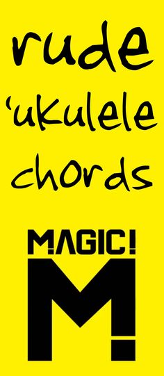 Rude ukulele chords - How to play Rude on ukulele Cool Ukulele, Ukulele Songs, Ukulele Chords, The Learning Experience, Fun Learning, Hawaiian Ukulele, Creative Sound, Instrument Sounds, Local Music