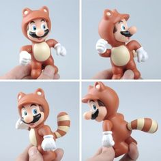 """New Super Mario Bros Civet Cats 4"""" PVC Action Figure Toy-in Action & Toy Figures from Toys & Hobbies on Aliexpress.com 