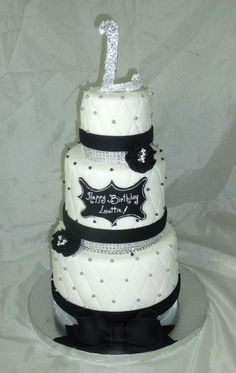 Black and White birthday party!