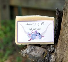 Learn how to make DIY Wedding Soap Favors and unique DIY Save the Date Soaps plus a two homemade soap recipes for mango & coconut milk soaps!