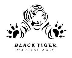 Black Tiger Martial Arts | Logos | Pinterest | Black Tigers ...