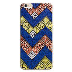 Coque iPhone 6 design wax tissu africain disponible pour tout modèle de smartphone à 9,90 € seulement !