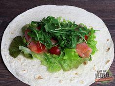 Lososový wrap - S jemne kyslastým dresingom Ale, Tacos, Mexican, Ethnic Recipes, Food, Ale Beer, Essen, Meals, Yemek