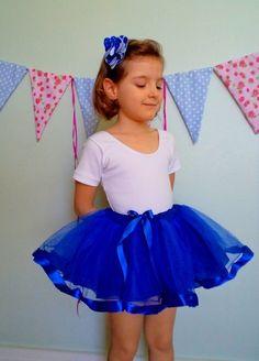 Saia Bela - Azul royal