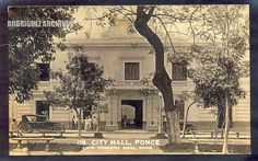 RS # 89 Type 5 - PONCE - City Hall - Unused & Mailed from Ponce MAY 11, 1934. | by ARCHIVO HISTORICO Y FOTOGRAFICO DE PUERTO RICO