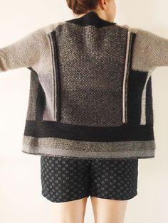 Penguono Sweater Pattern by Stephen West @Craftsy