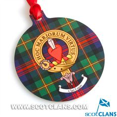 Logan Clan Crest Christmas Ornament