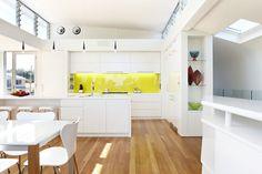 Read more on Grand Designs Australia: Series 2 · Episode 3 Grand Designs Australia, My Kitchen Rules, Kitchen Ideas, Bungalow Kitchen, Latest House Designs, Space Place, Channel, Architectural Features, Retro