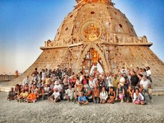 PLACE Blog: Building a Temple at Burning Man festival!