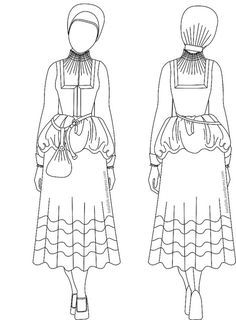How to Frau - The new blog post from Katafalk! She breaks down the layers of what the German woman on campaign would wear, how to wear them, and what to avoid in creating your look. Brilliant!