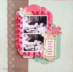 My Scrapbook nook blog: May One Page Layout Class