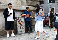 Phil Oh's Best Street Style Pics From Milan's Spring 2017 Men's Shows