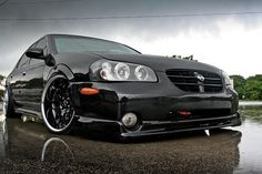 Nissan maxima stanced