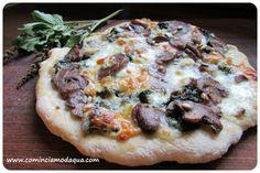 """Pizza al basilico """"campagnola"""" di Elena"""