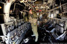 Interior of a CV-22 Osprey tiltrotor aircraft. - Image - Airforce Technology
