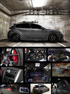 Scosche Subaru STI. Dayyyuuuuuuuuummmm<3