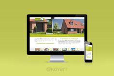 Création de site internet constructeur de maison Car&Ver : www.caretver.fr