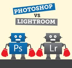 Photoshop vs. Lightroom | Photography Concentrate --- Nailed it. Using LR to process and then PS to finish any details is the way to go.