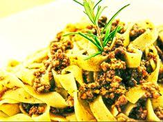 Il Cucchiaio di Giada | Fettuccine al ragù bianco veloce
