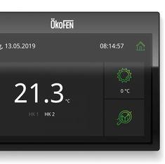 UI/UX für ÖkoFEN Touchpanels Interface Design, Ui Ux, Too Busy, User Interface Design