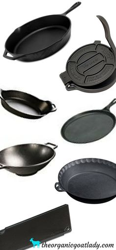 Cast Iron Products And Accessories, Kitchen Tips and tools, homestead kitchen