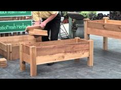 ▶ How to build a simple elevated garden bed with Louis Damm - YouTube