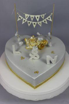 Wedding Heart Cake / Hochzeitsherz Torte